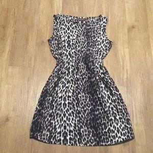 Cheetah print dress
